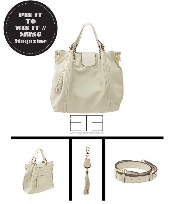 // Repin to win a customised luxury Chloe Tote valued at $350 from The Bag Department.   // Find out more here :: http://gaynoralder.com/2013/06/27/win-design-your-own-luxury-handbag-from-the-bag-department/