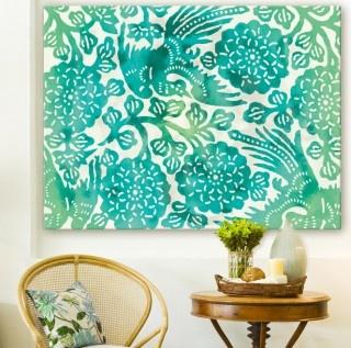 Ava Cream - Canvas art print