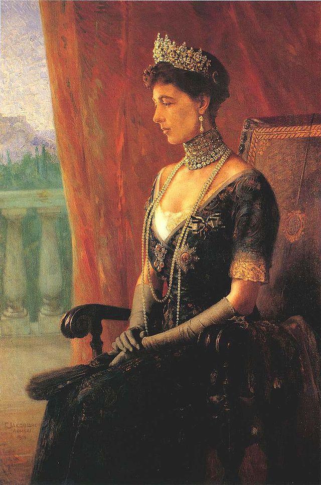 Reina Sofía de Grecia (1914) Georgios Iakovidis (Γεώργιος Ιακωβίδης. Grecia, 1853-1932)