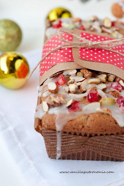 O tradicional bolo de Natal!!! | Vanilla Gastronomia