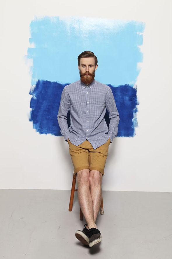 les 8 meilleures images du tableau homme chemise short sur pinterest mode homme en t et. Black Bedroom Furniture Sets. Home Design Ideas