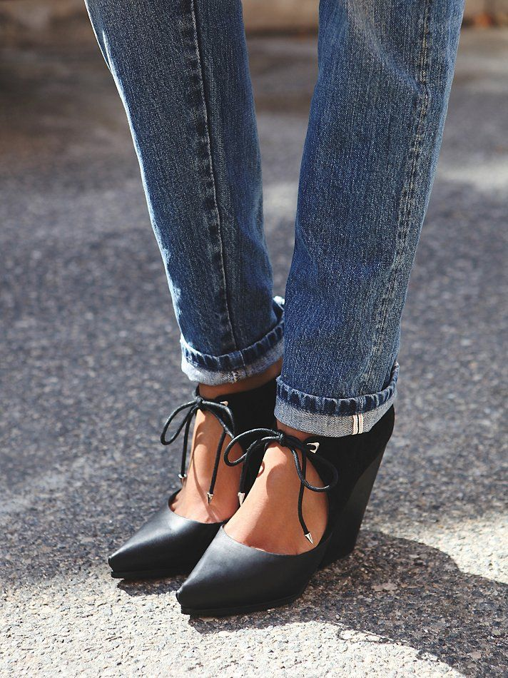 Grey City Darby Heel at Free People Clothing Boutique
