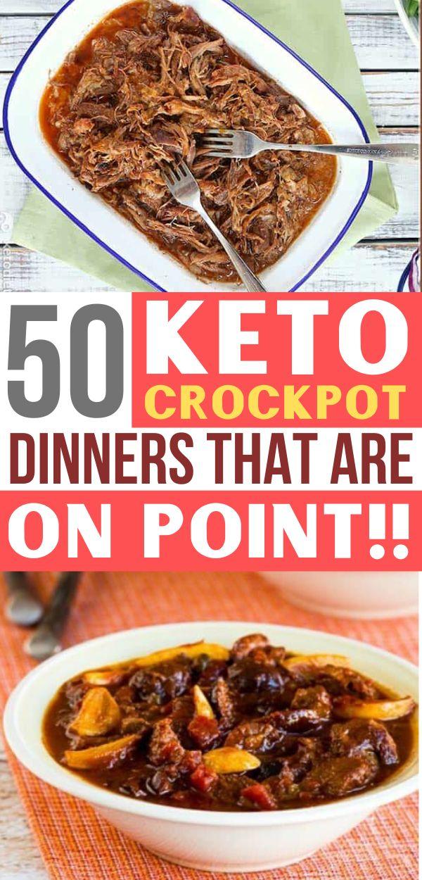 50 einfache Crockpot Dinner-Rezepte, die unglaublich kohlenhydratarm sind