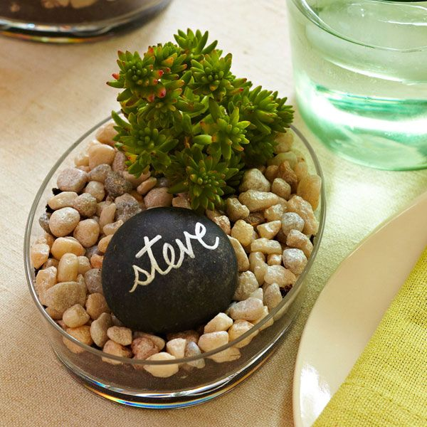 Soap Dish Garden Place Setting Add An Earthy Touch To Your Dining Room  Table With Personalized Mini Gardens. Theyu0027re Easy To Create    And They  Make Great ...