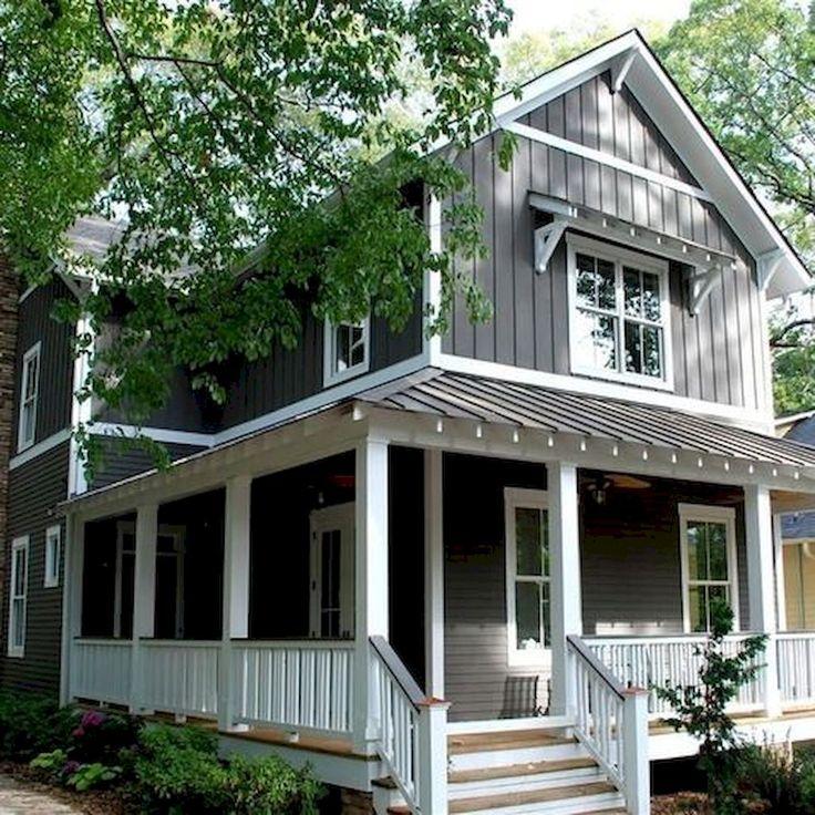 30 Gorgeous Farmhouse Front Porch Design Ideas Freshouz Com: Best 25+ House Exteriors Ideas On Pinterest