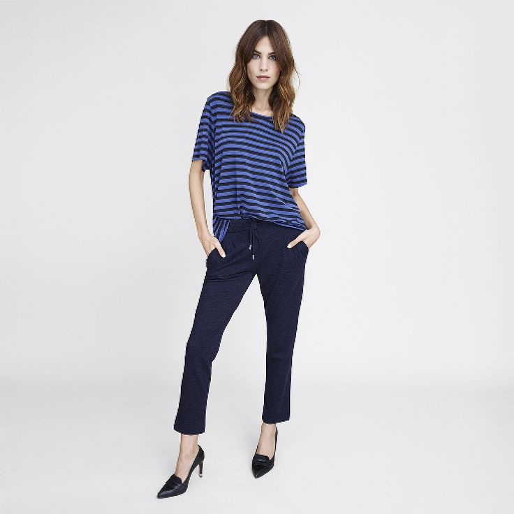 Have a spring fling with some new-season stripes as modeled by Alexa Chung for Tommy Hilfiger.