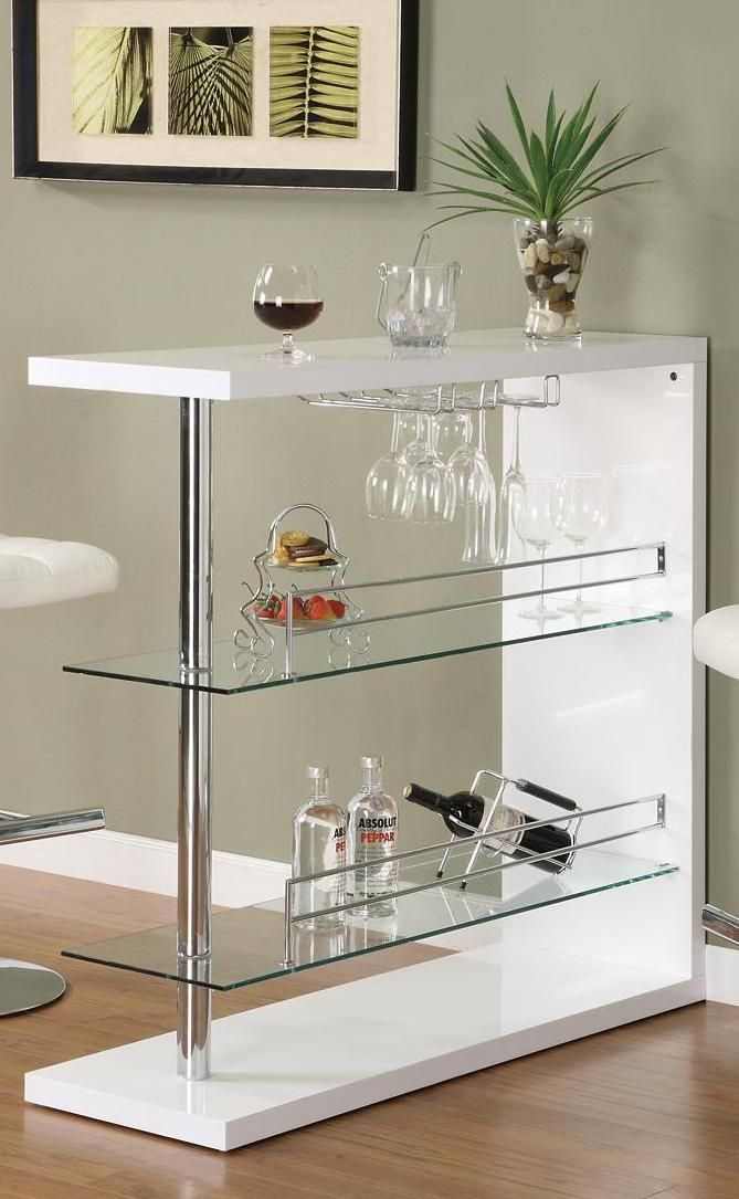 Contemporary Bar Table by Coaster Fine Furniture - 100165