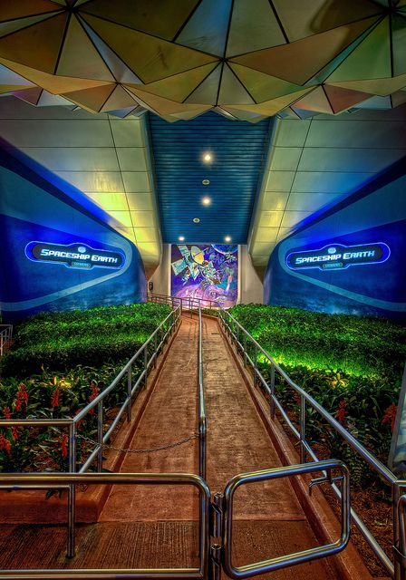 EPCOT - Spaceship Earth, My favorite ride at DisneyWorld #disney #epcot
