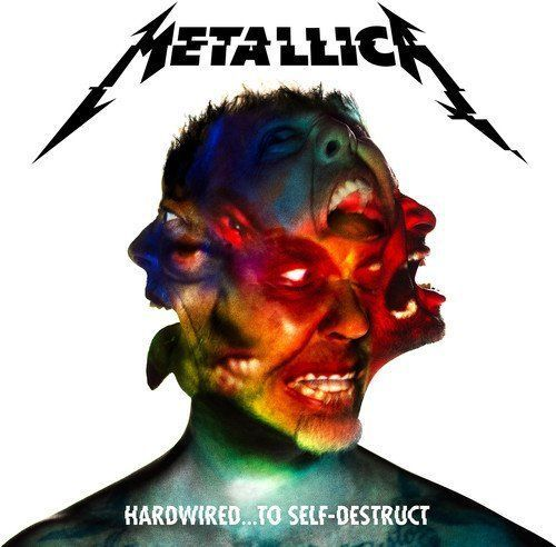 METALLICA CD - HARDWIRED...TO SELF-DESTRUCT [3CD DELUXE EDITION](2016) - NEW