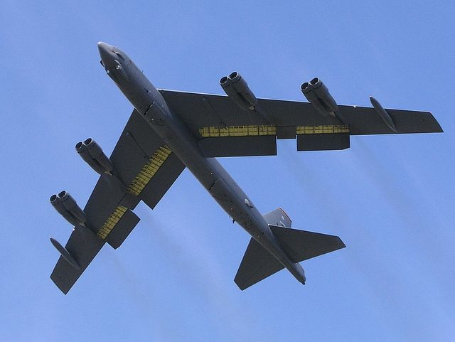 B-52H Stratofortress.                                                                                                                                                           B-52H Stratofortress - eyes up!                                           ..
