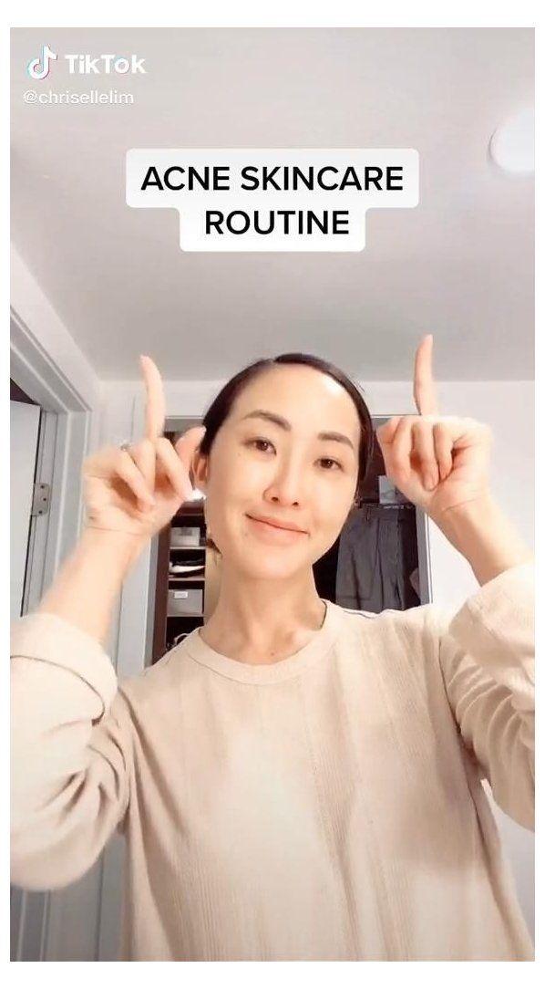 Korean Acne Skincare Routine Beauty Tiktok Beauty Skin Care Routine Videos Korean Sk Acne Skincare Routine Korean Skincare Acne Beauty Skin Care Routine