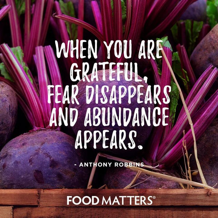 Gratitude changes everything ❤️ www.foodmatters.com #foodmatters #FMquotes #foodforthought