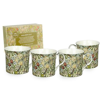 Check this out!! The Kitchen Gift Company have some great deals on Kitchen Gadgets & Gifts William Morris Golden Lily Mugs - Set of 4 #kitchengiftco