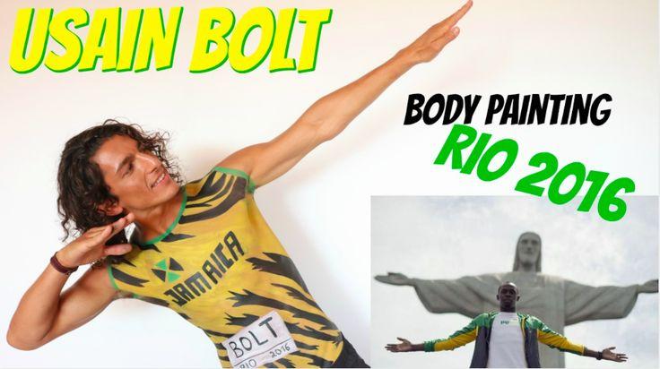 maquillage Usain Bolt Rio 2016 - Body painting pour les jeux olympiques de Rio .  Démonstration maquillage . Vous désirez découvrir cette vidéo ? Rendez vous sur mon blog