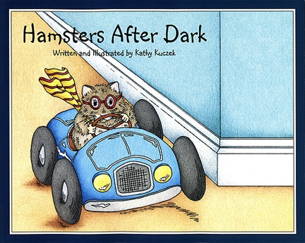 Hamsters After Dark - A 32 page picture book available in softcover or hardcover. The kids are giving it rave reviews.  A great bedtime story of the antics of Rufus and his siblings with colorful illustrations and rhyme. Your child will love this book. Give the gift of reading.