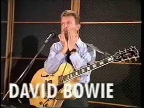 David Bowie - Tin Machine 1989 rehearsal, interview