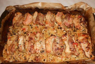 Piept de porc cu varza - Retete Culinare