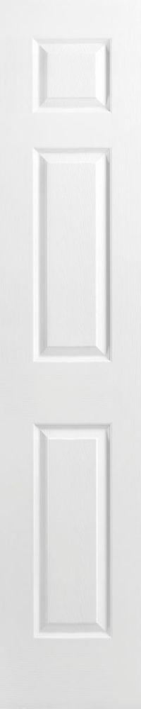 Primed 6 Panel Textured Interior Door Slab 20Inch X 80Inch
