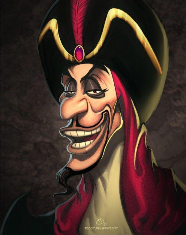 illustration | disney villains | by nicolas chapuis
