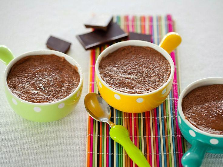 Рецепт: Шоколадный пудинг из манной крупы в мультиварке