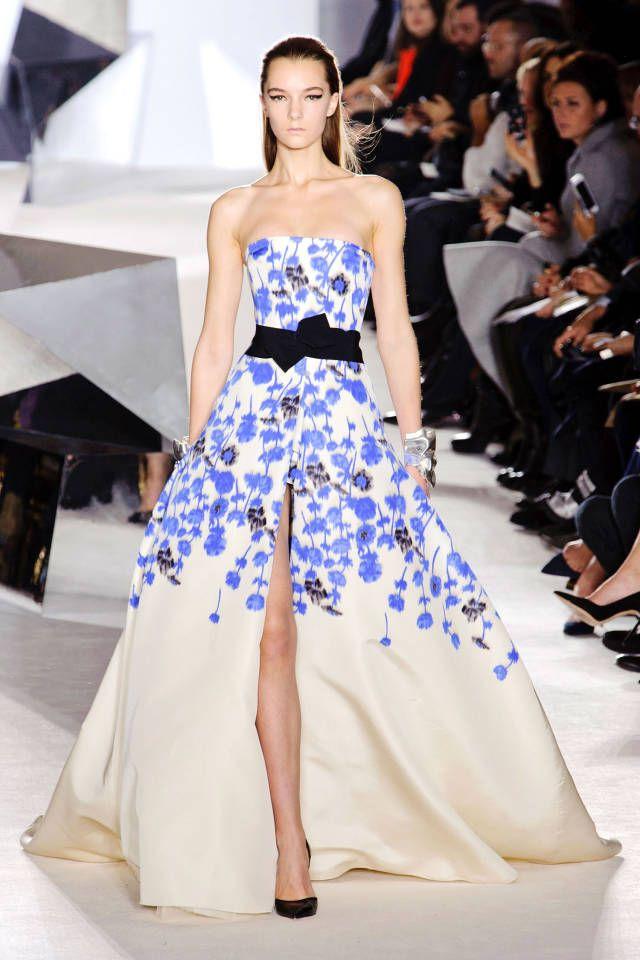 Giambattista Valli Couture Spring 2014 #runway