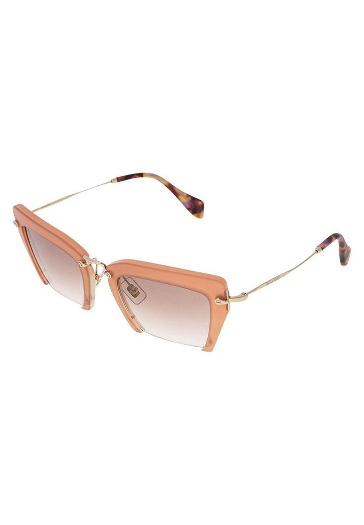 Miu Miu Okulary przeciwsłoneczne pink