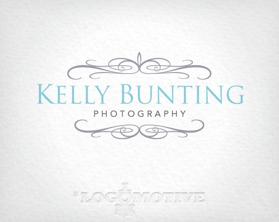 Logo Design - Premade logo, customizable for Photography, Vintage, Clothing or other Small Business. Includes Watermark.. $25.00, via Etsy.