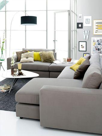 Beige Bankstel Modulo Coming Lifestyle