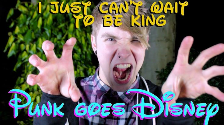 The Lion King - 'I Just Can't Wait to Be King' (POP PUNK COVER) Could it be any cuter?! ^-^