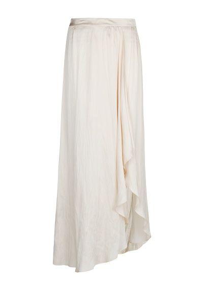 MANGO - Макси-юбка с разрезом сбоку
