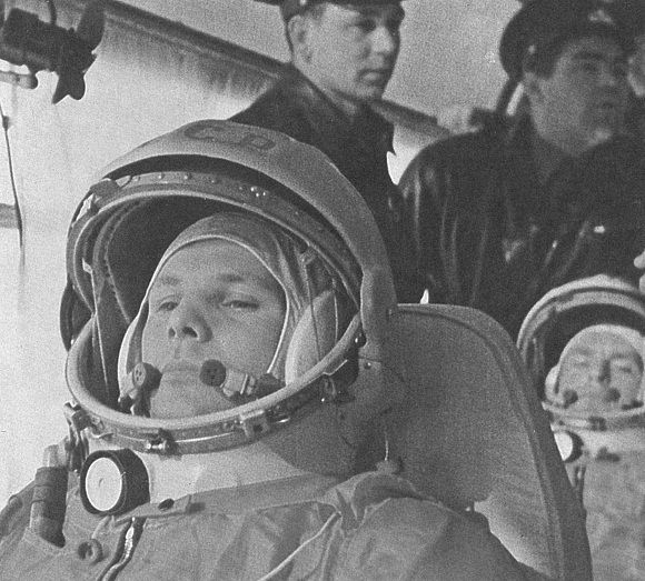Yuri Gagarin on a bus - Vostok 1: Secrets of the first spaceflight - http://www.armaghplanet.com