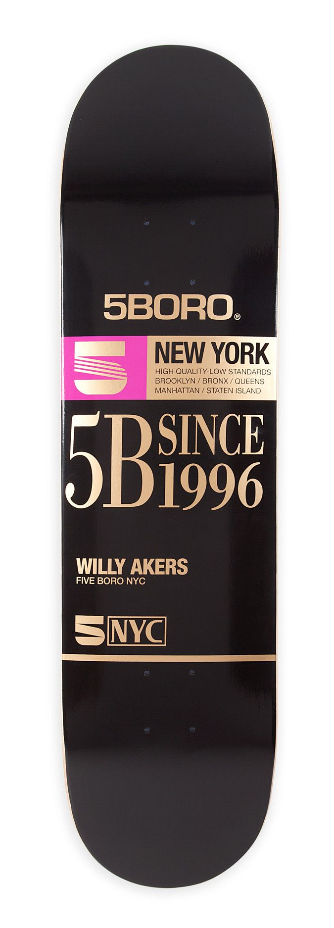 5B VHS Series Willy Akers – 5BORONYC