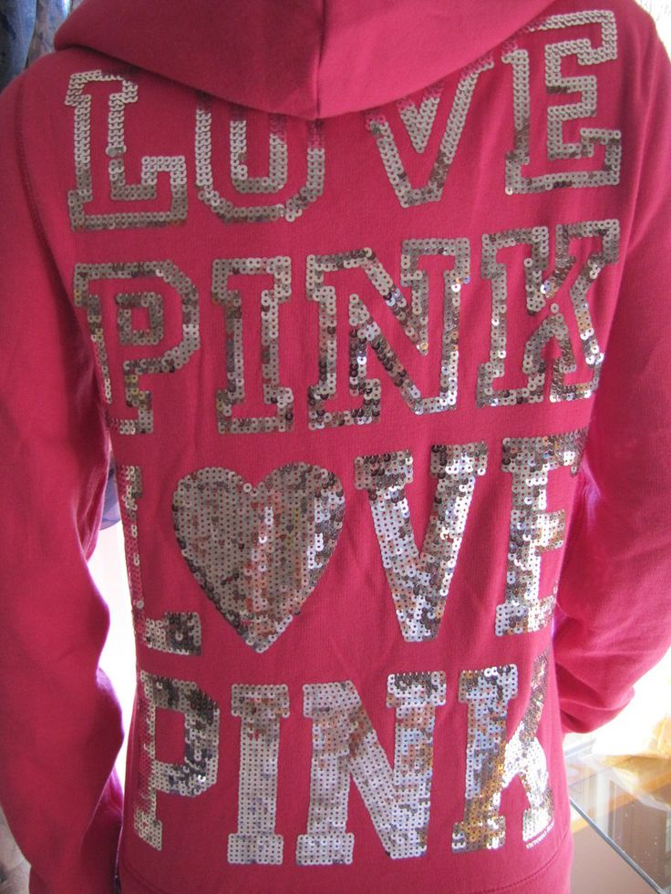 victoria+secret+hoodies+pink