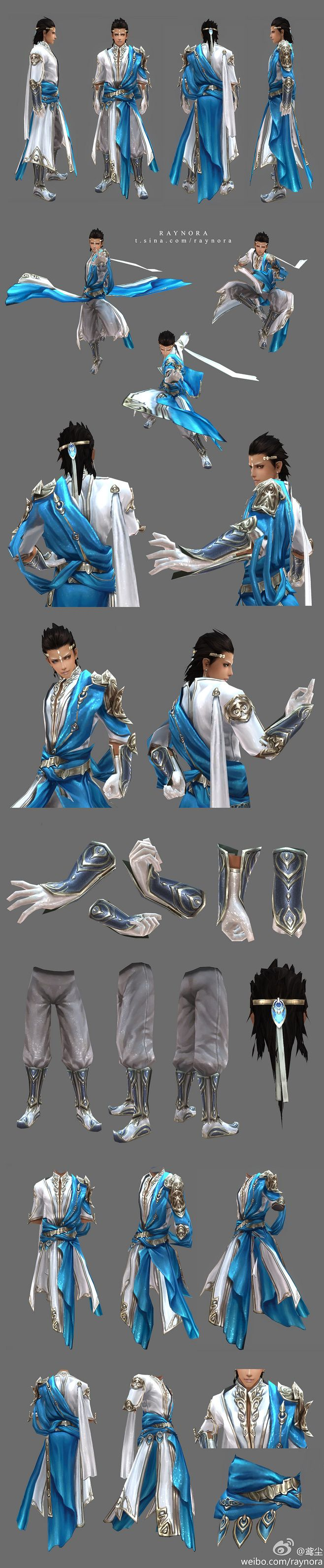 dress shoes belt circlet hair Character Man top armor tunic pants
