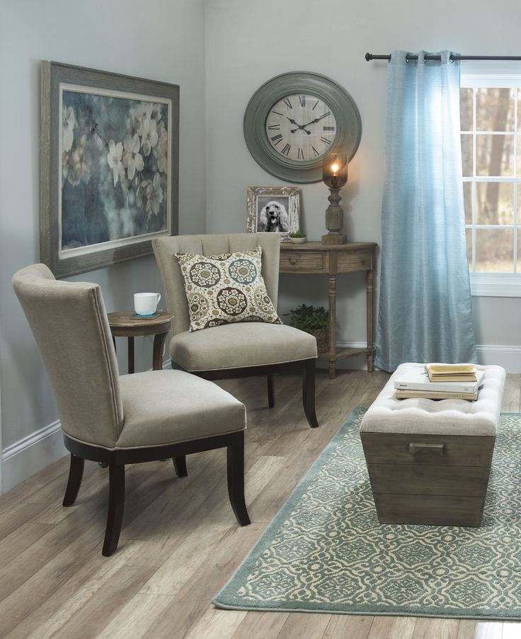 Turn your space into a relaxing haven using your favorite color as a guide Kirklands has a