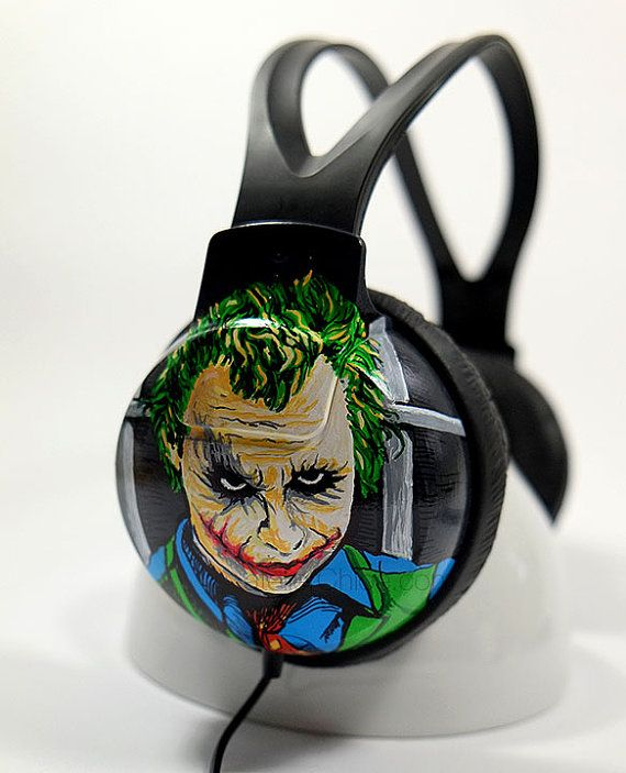 Customized Headphones  Unique Earphones Hand by atelierChloe
