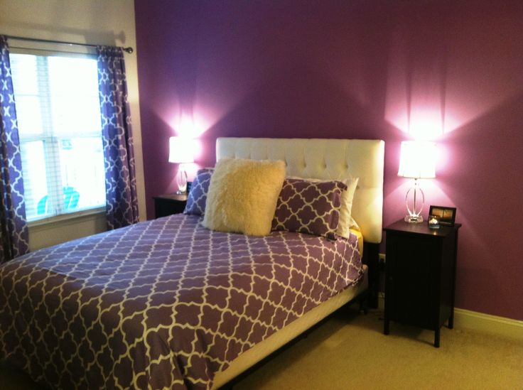 25 best ideas about purple bedroom accents on pinterest 13005 | 8ff4c2b8f92c35ab4a2f6d39ec673d35 purple bedroom accents bedroom accent walls