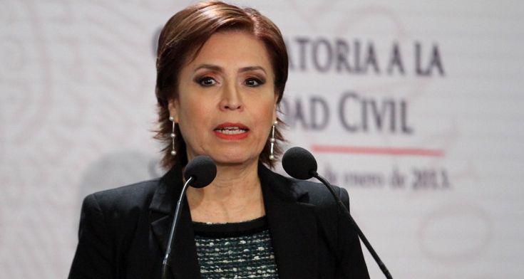HAY MÁS POBRES PORQUE NACEN MÁS MEXICANOS: ROSARIO ROBLES