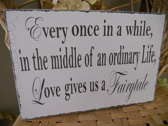 Wedding Sign Fairytale Wedding day by 2chicsthatbelieve on Etsy