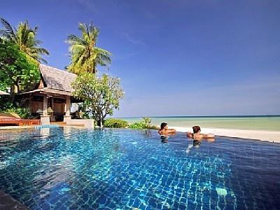 Affitto villa Lamai beach - Baan Sarika piscina infinita da sulla spiaggia