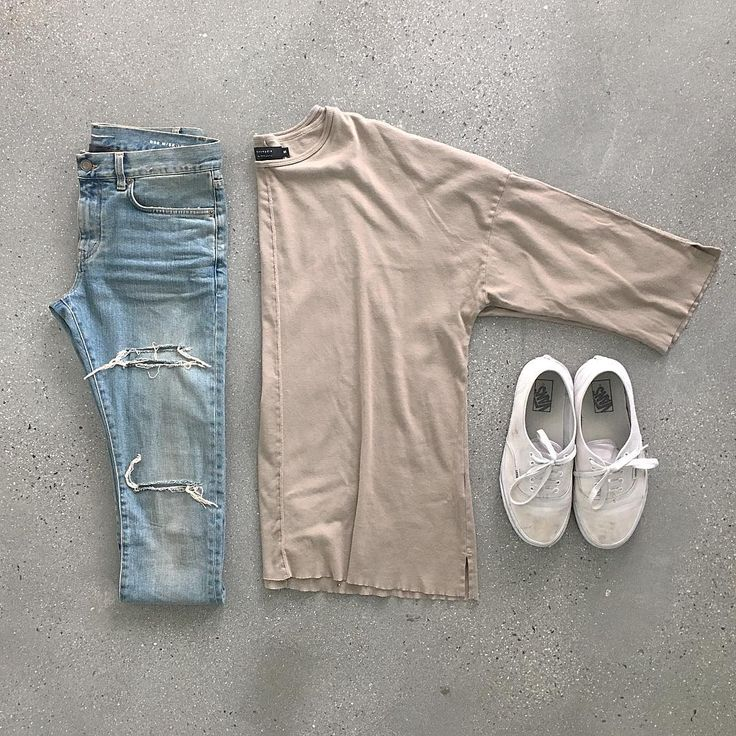 outfit grid oversized 3/4 sleeve tee ig: c00l_jay
