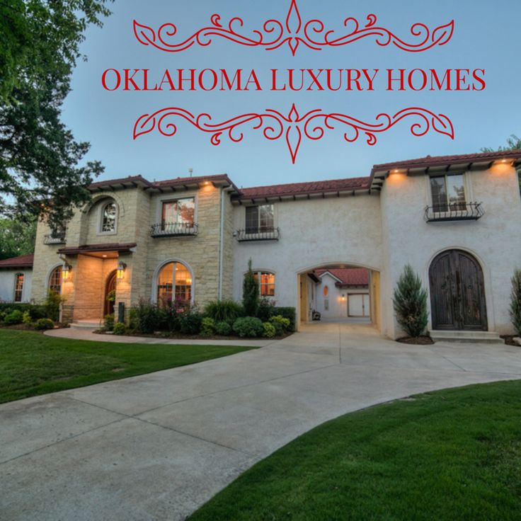 Oklahoma Luxury Homes Real Estate Wyatt Poindexter Www