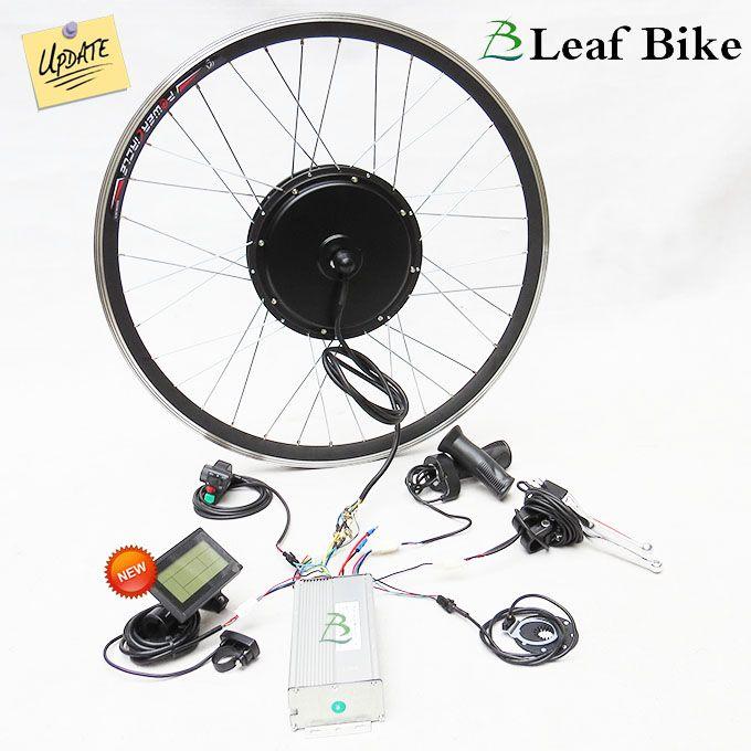 29 Inch 48v 52v 1500w Front Hub Motor Electric Bike Kit In 2020