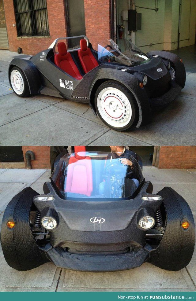 3D printed cars! Are they the future? #3dprinted