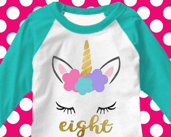 Unicorn svg, 8th, svg, 8 svg, eight, birthday svg, eighth
