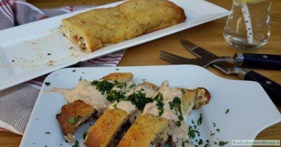 gevuld Italiaans brood en nog veel meer recepten voor broodvervangers