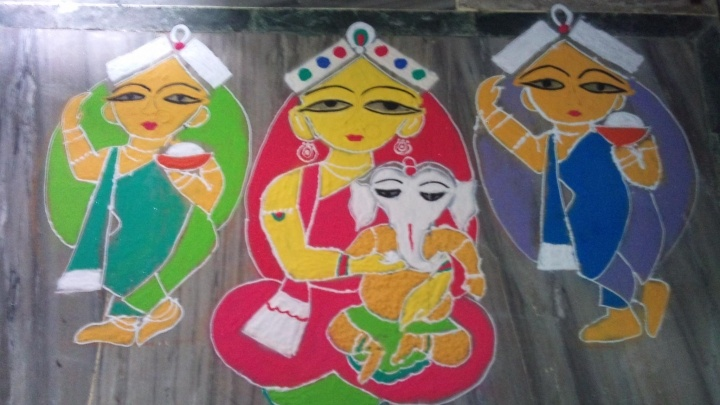Entry by Kanika Goel(2) #Diwali #Rangoli