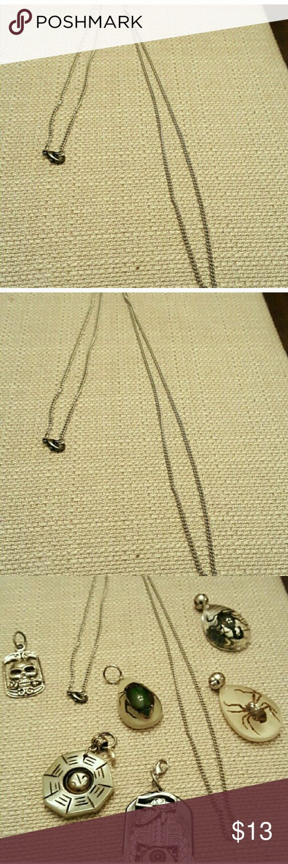 STAINLESS STEEL CHAIN 30 INCHES IN LENGTH Stainless steel Jewelry Necklaces