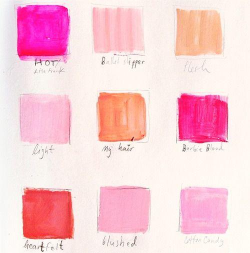 Pink n' peach n' things. ya, I'm into it.