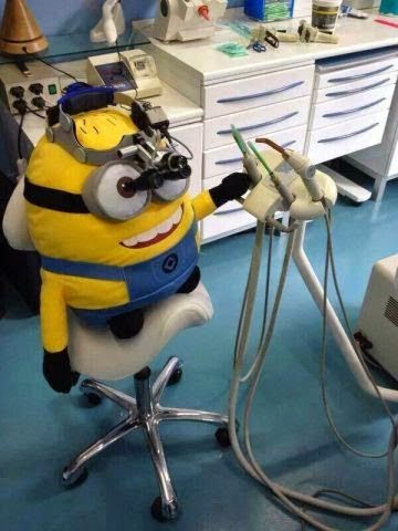 Would you let a minion work on your teeth? #DentalJokes #DentalHumor #DentalLOL #DentalPuns #HowardFarran #Dentaltown #Dentist #Dental #Dentistry #DDS #DMD